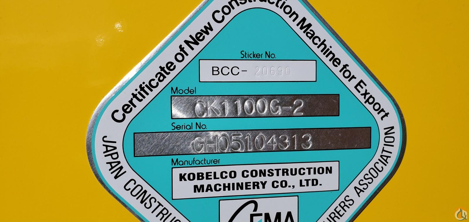 Kobelco CK1100G
