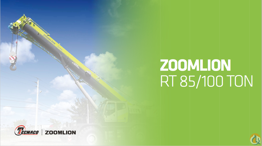 Zoomlion ZRT850