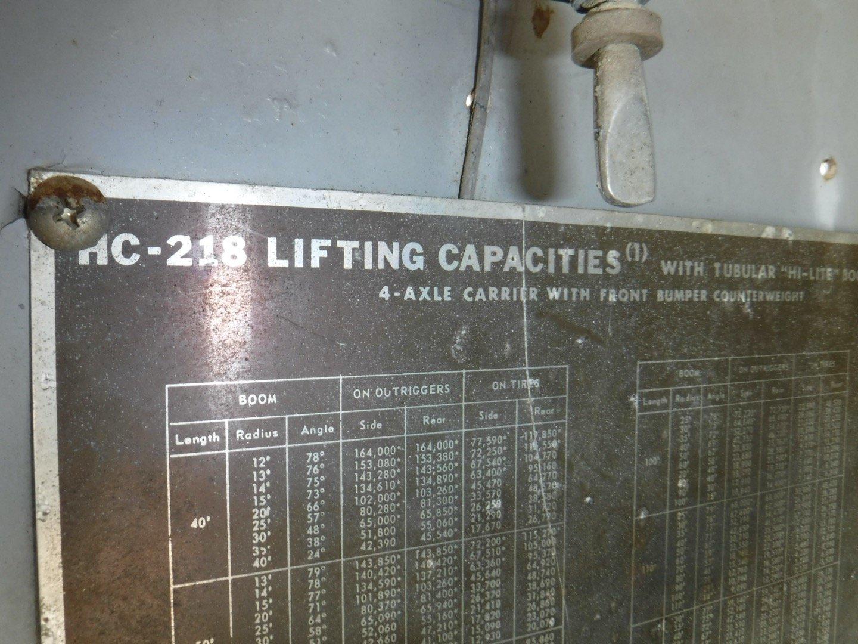 Link-Belt HC-218